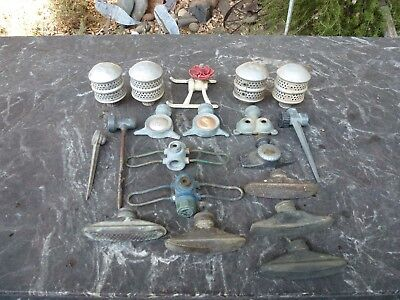 Vintage Hose Sprinkler Heads Sprayers Globes Owls Etc. Lot