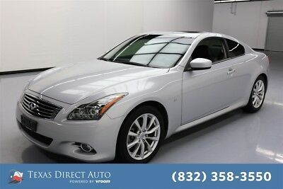 2014 Infiniti Q60 Journey Texas Direct Auto 2014 Journey Used 3.7L V6 24V Automatic RWD Coupe Bose Premium