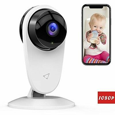 Baby Monitor 1080P FHD Home WiFi Security Camera Sound/Motion Infant Detection