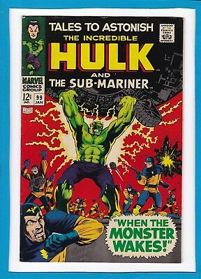 Tales To Astonish #99_Jan 1968_Vf Minus_Incredible Hulk_Sub-Mariner_Silver Age!