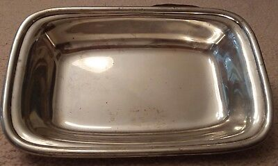 Antique Wallace Sterling Silver Tray, Chelsea # 4480