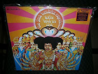 THE JIMI HENDRIX EXPERIENCE *Axis: Bold as Love *NEW 180 GRAM RECORD LP VINYL