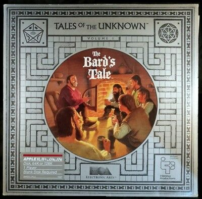 Bard's Tale: Tales of the Unknown (Apple, 1985)