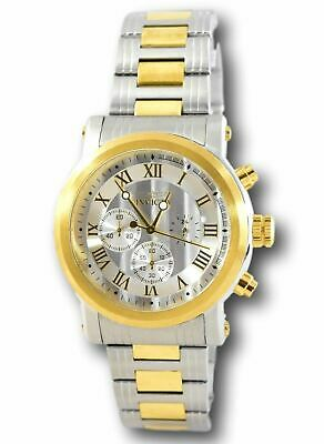 Invicta 15213 Men's Specialty Gold Tone Chronograph 46mm Silver Dial Watch