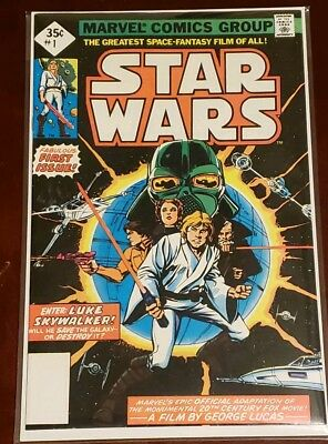 Star Wars #1 Nm/mt(9.8) *official Adaptation* 1977 Marvel Comics Nice!