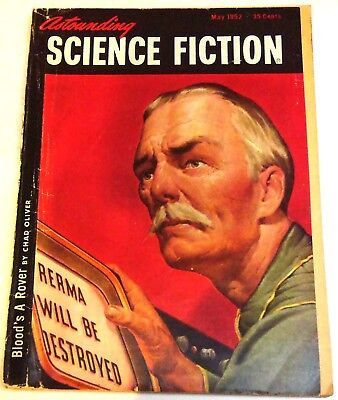 Astounding Science Fiction – US digest – Vol.49 No.3 - May 1952 - Chad Oliver