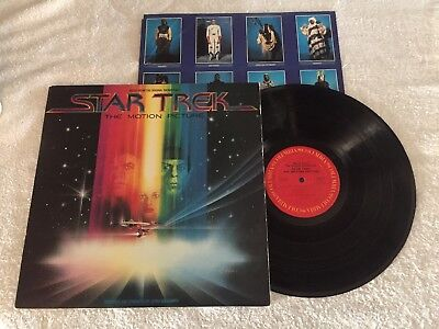 Omps - Star Trek The Motion Película - Banda Sonora LP - Jerry Goldsmith