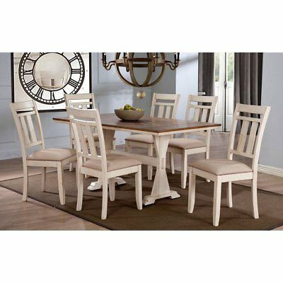 Roseberry Shabby Chic French Country Cottage Antique Oak Wood and Distressed