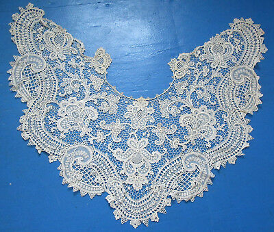 Antique Lace Collar Ornate Large  and Fancy