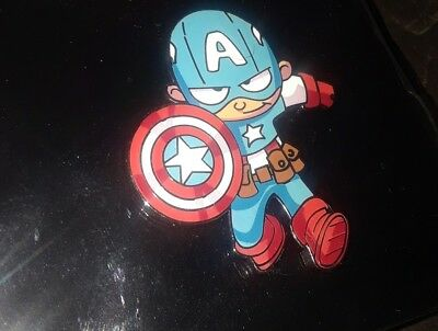 SDCC 2018 Limited Edition LE Skottie Young Marvel Avengers Pin Captain America