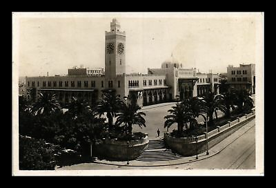 Dr Jim Stamps Us Army Post Office Free Frank Real Photo Postcard Algeria Apo 700