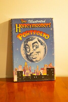 The Illustrated Honeymooners Portfolio Complete Comic Book Set - slightly worn
