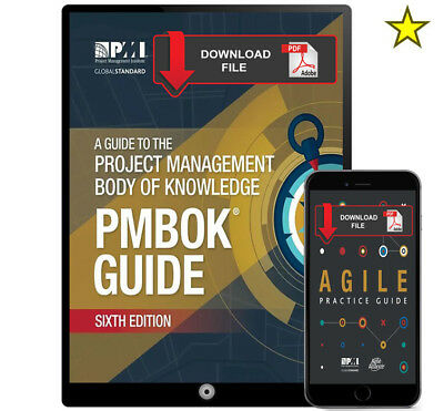2in1- Guide Project Management Body of Knowledge (PMBOK) 6th Edition+Agile Guide