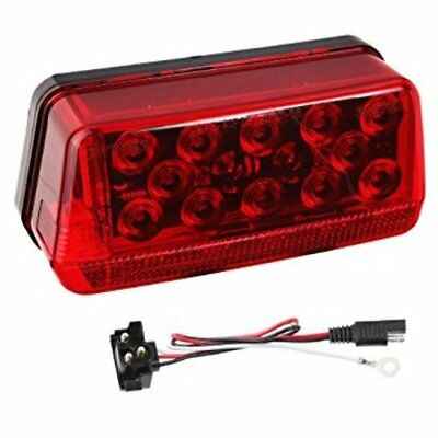 """LED WATERPROOF OVER 80"""" TRAILER TAIL LIGHT -8-Function Tail Lamp, Left"""