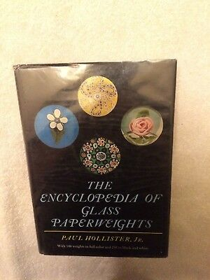 The Encyclopedia of Glass Paperweights by Paul Hollister, Jr. 1st/1969 HC/DJ