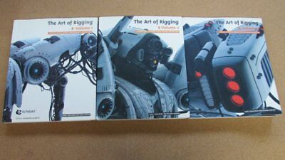 The Art of Rigging 3 Vol. Set: Alias Maya 3D Graphic Definitive Guide Books