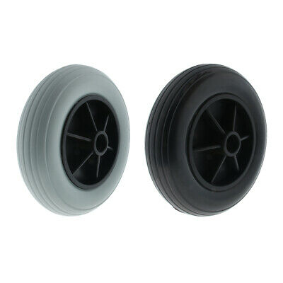"""8"""" Inflatable Wheelchair Solid Tires Front Casters for Disability Aid Elders"""