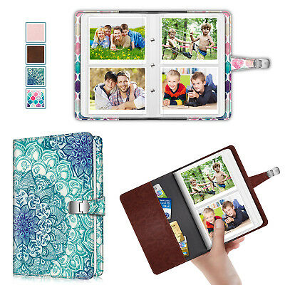 64 Pockets Wallet Photo Album For Fujifilm Instax Wide 300 / Polaroid OneStep 2