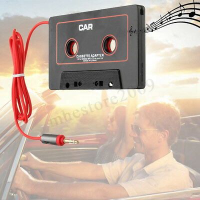 Audio AUX Car Cassette Tape Adapter Converter 3.5 MM for iPhone iPod MP3 MP4