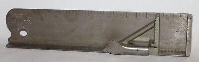 Vintage H. B. Rouse & Co Letterpress Composing Stick Stainless Steel