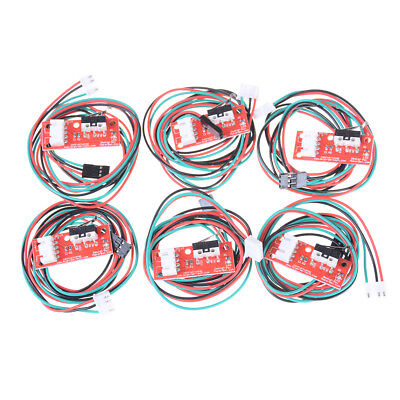 6sets Endstop Limit Mechanical End Stop Switch Cables For CNC 3D Printer RampsO!