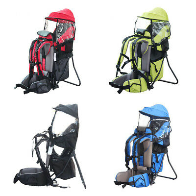 Baby Toddler Backpack Camping Hiking Child Kid Carrier Outdoor Adjustable
