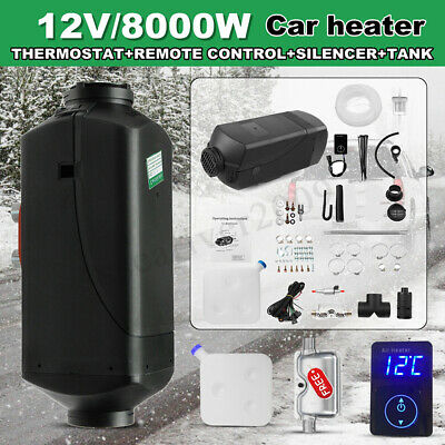 12V 8KW diesel Air Heater Planar Parking Quiet Digital For Motorhome Trucks Boat