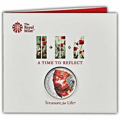 The Remembrance Day 2018 UK £5 Brilliant Uncirculated Coin