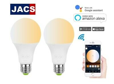 Smart E27 Bulb - Compatible with Alexa and Google Devices 6.5W