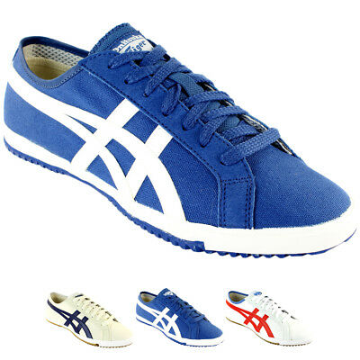 huge discount 1b631 3f1ae MENS ASICS ONITSUKA Tiger Retro Glide Cv Lace Up Sports Vintage Trainers Uk  6-12