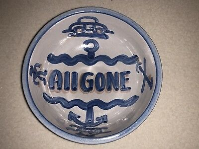 "M.A. Hadley ""all Gone"" Bowl - MINT"
