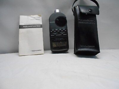 Digital Sound Level Meter Realistic, Radio Shack 33-2055