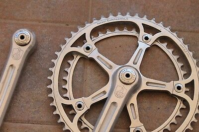 Guarnitura Campagnolo NUOVO/SUPER RECORD pat 78 mm170 Crankset 4 Colnago Masi