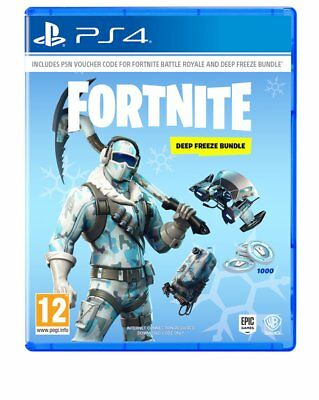 Fortnite: Deep Freeze Bundle (PS4)  NEW AND SEALED - IN STOCK - QUICK DISPATCH