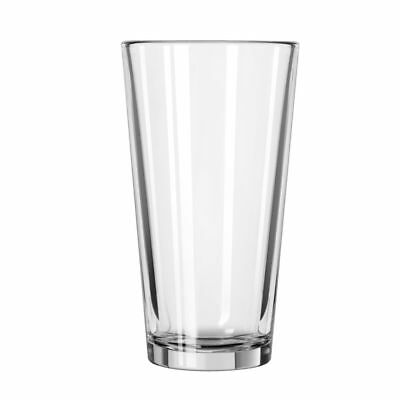 Libbey 15385 Restaurant Basics 16 Ounce Tall Mixing Glass - 24 / CS
