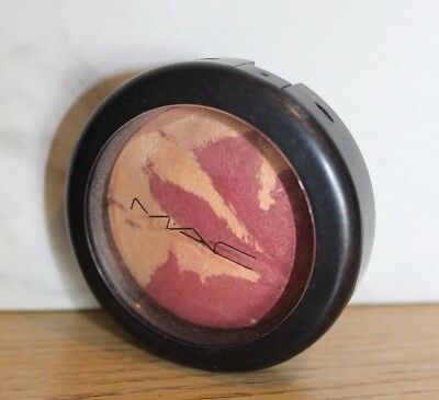 Mac Cosmetics Mineralize Blush In Simmer (Gold/deep Pink)