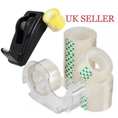 Brand New Tape Dispenser  with Free  2 or  8 Tape UK Seller