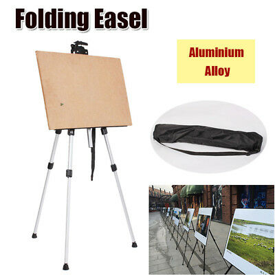 Artist Adjustable Folding Easel Stand WhiteBoard Tripod Display Exhibition
