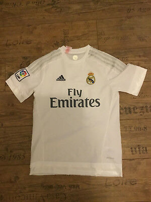 Adidas Real Madrid Kinder Trikot Jersey weiss Gr.164