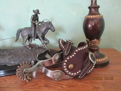 Spurs with leather straps, Quality, Colorado Saddlery