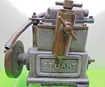 OLD VINTAGE STUART LIVE STEAM POWERED EARLY marine SAILING MODEL BOAT ENGINE A/F