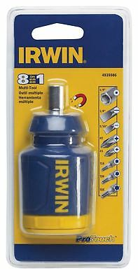 Irwin 4935586 8-in-1 Multi-Tool Stubby Screwdriver Nutdriver Carded