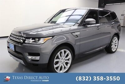 2016 Land Rover Range Rover Sport V6 HSE Texas Direct Auto 2016 V6 HSE Used 3L V6 24V Automatic 4WD SUV Moonroof Premium