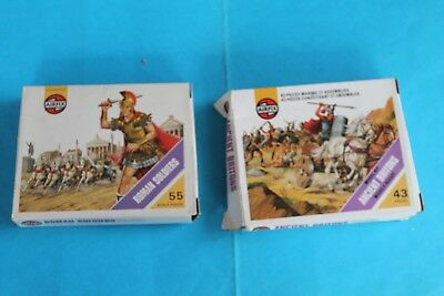 AIRFIX STRIP-BOX - S30 Romans  O S34 Ancient Britons - RARA SERIE IN BOX SFUSI