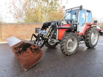 TRIMA 1510 LOADER KIT & BUCKET MASSEY FERGUSON FROM 690 4x4 TRACTOR NOT INCLUDED