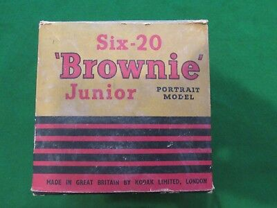 Six-20 Brownie Junior Portrait Model Camera Boxed