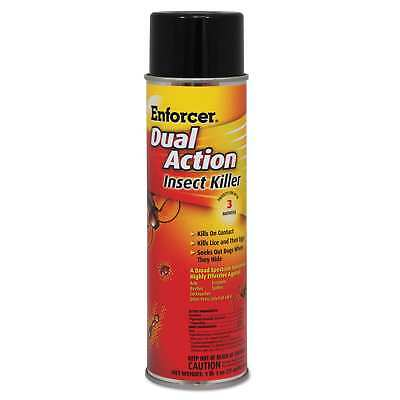 Enforcer Dual Action Insect Killer For Flying/Crawling Insects 17-ounce Aerosol