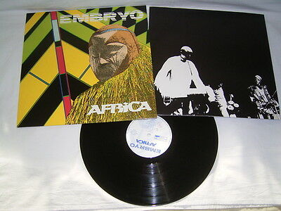 LP - Embryo Africa - Italy 1987 OIS Krautrock # cleaned