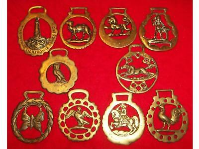 Selection of Vintage Cast Horse Brasses #2 ~ See Individual Photos ~UK Post Free