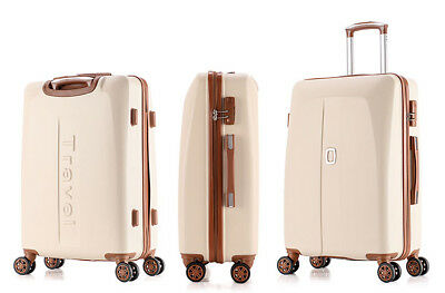 E887 Fashion Universal Wheel Coded Lock Travel Suitcase Luggage 20 Inches W